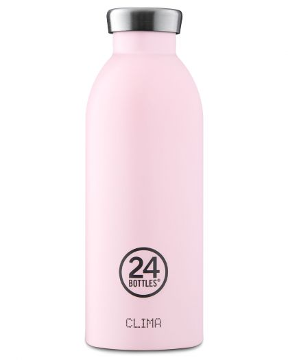 Clima Bottle 500ML  Pastel Collection  Candy Pink