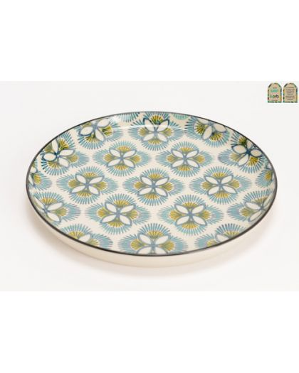 Assiette Plate Imany
