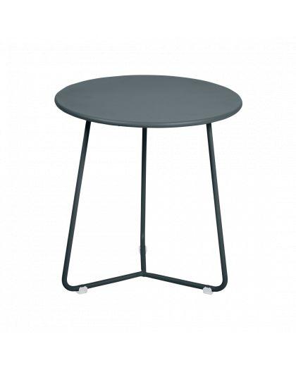 Cocotte Table Appoint/Tabouret Gris Orage