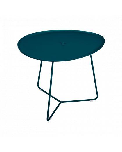 Cocotte Table Basse Bleu Acapulco