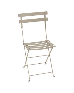Bistro Metal Chaise Pliante Muscade