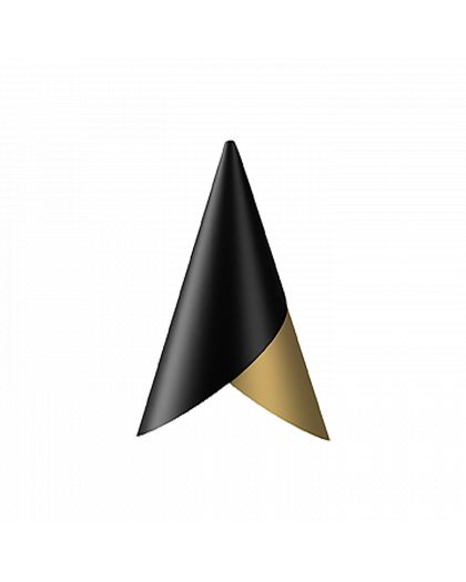 Suspension Cornet Black Brass Dore