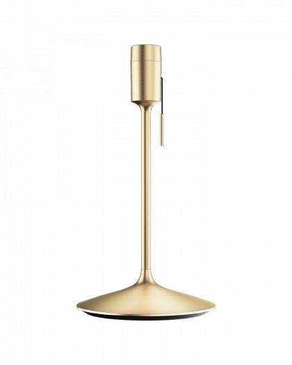 Pied Lampadaire De Table Droit Brushed Brass