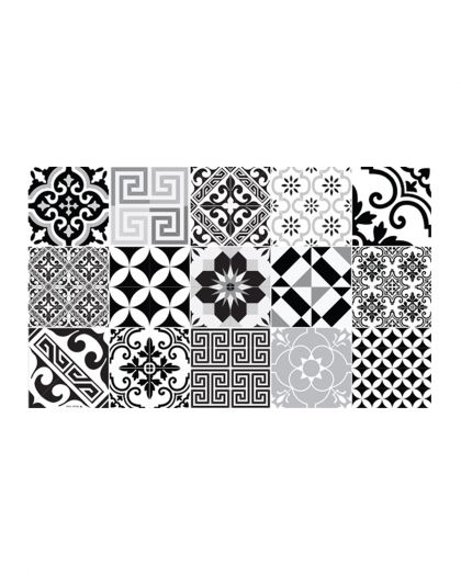 Tapis Vinyl Collection Eclectic Bw 70/180