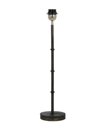 Pied De Lampe Phuket Zinc Noir H45
