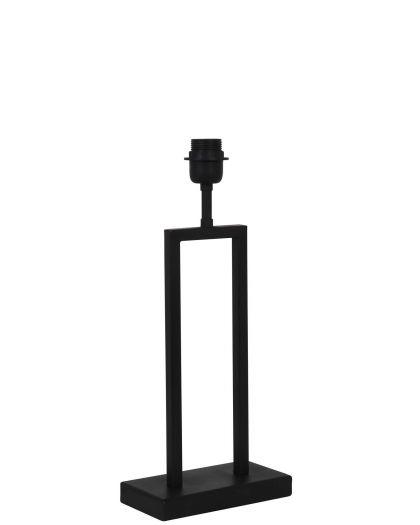 Pied De Lampe 20X10X41 Cm Shiva Noir Mat