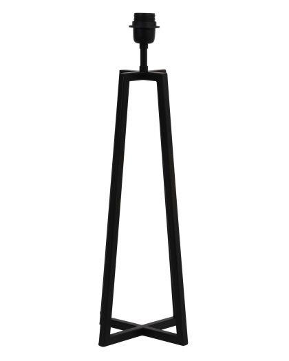 Pied De Lampe Noir Mat 21/21/56