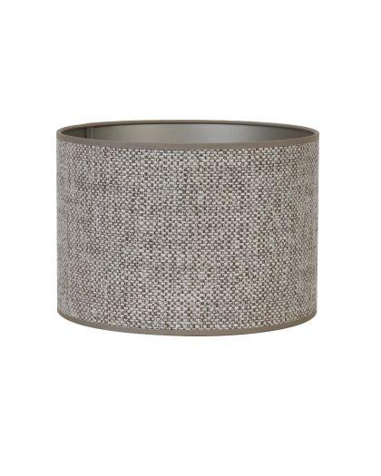 Abat-Jour Cylindre 35-35-30 Cm Saverna Brun Beige
