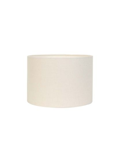 Abat-Jour Cylindre 25-25-18 Cm Livigno Oeuf Blanc