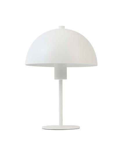 Lampe De Table Ø25X35 Cm Merel Blanc Mat