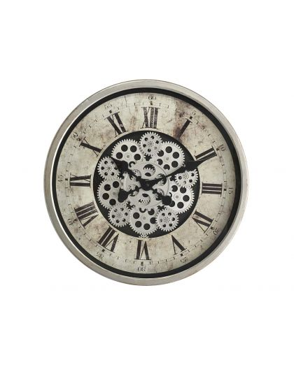 Horloge Mecanisme Apparent Grise 46/46/8.5