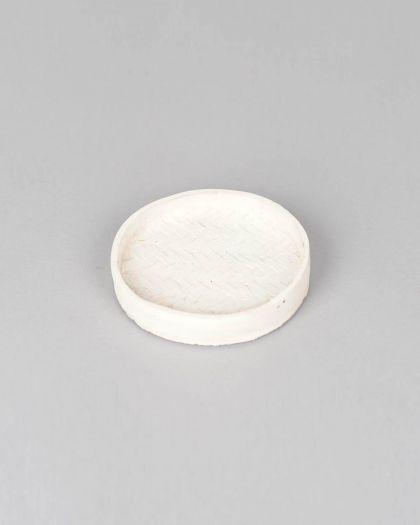 Winnow - plateau blanc en ciment