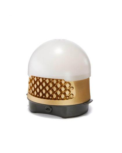 Ampoule Sans Fil Bulbee + Dôme Diffuseur Opalin, Câble Micro- Usb (Non Aimanté)