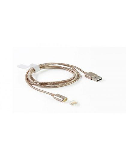 Câble Magnétique 1M + Adaptateur Micro Usb Aimanté