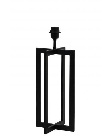 Pied De Lampe Ds21/H46 Mace Noir